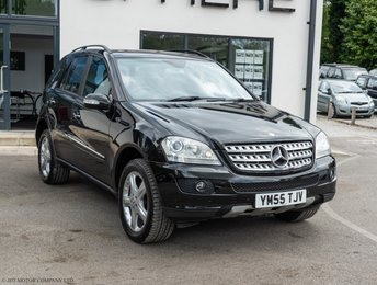 2006 MERCEDES-BENZ M CLASS 3.0 ML320 CDI SPORT 5d 222 BHP SOLD TO SIMON £SOLD