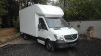 USED 2014 14 MERCEDES-BENZ SPRINTER 2.1 313 CDI LWB LUTON WITH TAIL LIFT Long Wheel Base Luton With Tail Lift