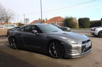 USED 2013 63 NISSAN GT-R 3.8 V6 Premium Edition Black 4WD 2dr Mechanically Standard, FSH