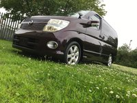 2008 NISSAN ELGRAND Highway Star Red Leather Premium Edition 3.5 Automatic,Sereis 3,8 Seats,58k, £11000.00