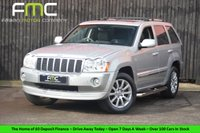 USED 2007 07 JEEP GRAND CHEROKEE 3.0 V6 CRD OVERLAND 5d AUTO 215 BHP Great For Towing