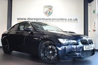 """USED 2012 12 BMW M3 4.0 M3 2DR AUTO 415 BHP full service history FINISHED IN STUNNING BLACK WITH FULL BLACK LEATHER INTERIOR + FULL SERVICE HISTORY + PRO SATELLITE NAVIGATION + BLUETOOTH + XENON LIGHTS + HEATED SPORT SEATS WITH MEMORY + ELECTRIC FOLDING MIRRORS + CRUISE CONTROL + PARKING SENSORS + 19"""" ALLOY WHEELS"""