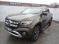 USED 2018 67 MERCEDES-BENZ X-CLASS 2.3 X250 D 4MATIC POWER 4d AUTO 188 BHP MERCEDES BENZ X CLASS POWER 250 4MATIC EURO 6
