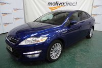 USED 2014 64 FORD MONDEO 2.0 ZETEC BUSINESS EDITION TDCI 5 Door 140 BHP