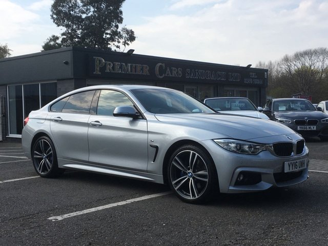 USED 2016 16 BMW 4 SERIES 2.0 420D M SPORT GRAN COUPE 4d 188 BHP