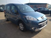 2010 PEUGEOT PARTNER 1.6 TEPEE S HDI 5d Cambelt + Water Pump Done At 67,000 £4495.00