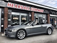 2006 BMW 630 630i SPORT AUTO CONVERTIBLE £6500.00