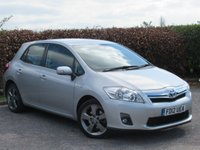 USED 2012 12 TOYOTA AURIS 1.8 T SPIRIT 5d AUTO FULL TOYOTA SERVICE HISTORY * BLUETOOTH * CRUISE CONTROL