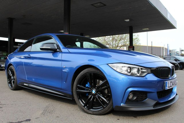 BMW 4 SERIES at Derby Trade Cars