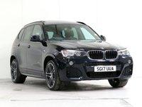 2017 BMW X3 2.0 XDRIVE20D M SPORT 5d AUTO 188 BHP £24170.00