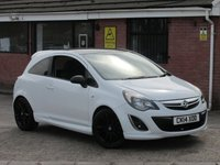 2014 VAUXHALL CORSA 1.2 LIMITED EDITION (ONE OWNER) 3dr £5990.00