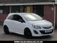 USED 2014 VAUXHALL CORSA 1.2 LIMITED EDITION (ONE OWNER) 3dr LOW MILEAGE AND ONE OWNER FROM NEW
