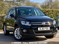 USED 2011 61 VOLKSWAGEN TIGUAN 2.0 SE TDI BLUEMOTION TECHNOLOGY 4MOTION 5d 138 BHP