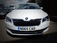 USED 2015 65 SKODA SUPERB 2.0 SE L EXECUTIVE TDI 5d 148 BHP FULL LEATHER Super Clean Condition Superb With Full Leather & Heated Front Seats