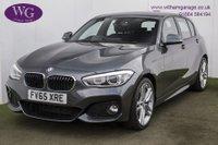 USED 2016 65 BMW 1 SERIES 2.0 118D M SPORT 5d AUTO 147 BHP