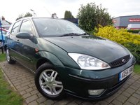 USED 2005 54 FORD FOCUS 1.6 ZETEC 5d 99 BHP **PX To Clear Cheap Family Hatchback June 2019 Mot**