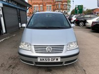 USED 2009 59 VOLKSWAGEN SHARAN 1.9 S TDI 5d AUTO 114 BHP 7 SEATER, AUTOMATIC, FINANCE ME