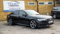 2015 AUDI A6 2.0 TDI ULTRA BLACK EDITION 4d AUTO 188 BHP £18984.00