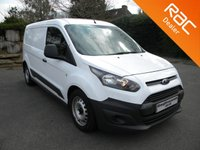 USED 2015 15 FORD TRANSIT CONNECT 1.6 210 P/V 1d 114 BHP USB, AUX, BLUETOOTH!