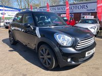 USED 2014 14 MINI COUNTRYMAN 1.6 COOPER D ALL4 5d 112 BHP 0%  FINANCE AVAILABLE ON THIS CAR PLEASE CALL 01204 393 181