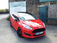 USED 2016 66 FORD FIESTA 1.0 ST-LINE RED EDITION 3d 139 BHP One Owner Full Service History