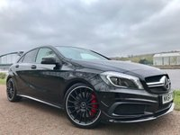 USED 2014 64 MERCEDES-BENZ A45 2.0 A45 AMG 4MATIC 5d 360 BHP **RARE AERO PACK**