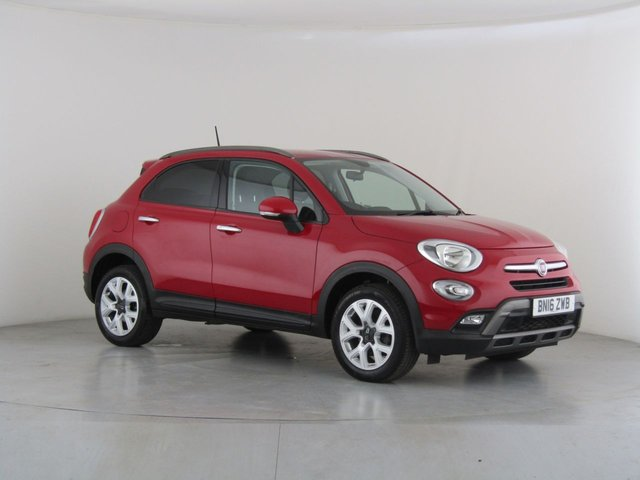 View our 2016 16 FIAT 500X 1.6 MULTIJET CROSS 5d 120 BHP