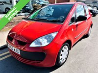 USED 2005 05 MITSUBISHI COLT 1.1 RED 3d 75 BHP