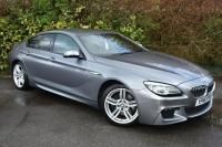 USED 2016 16 BMW 6 SERIES 3.0 640d M Sport Gran Coupe 4dr Diesel Steptronic (152 g/km, 313 bhp) STUNNING CONDITION FBMWSH