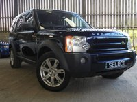 2008 LAND ROVER DISCOVERY 2.7 3 TDV6 SE 5d AUTO 188 BHP £6995.00