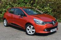 USED 2015 RENAULT CLIO  1.2 16v Dynamique MediaNav Hatchback 5dr Petrol Manual (127 g/km, 75 bhp) SATNAV FSH NEW SHAPE DYNAMIQUE