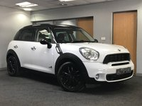 USED 2011 11 MINI COUNTRYMAN 2.0 COOPER SD ALL4 5d 141 BHP