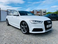 USED 2015 15 AUDI A6 2.0 TDI ULTRA BLACK EDITION 4d AUTO 188 BHP GENUINE A6 BLACK EDITION AUTO