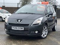 USED 2014 14 PEUGEOT 5008 1.6 HDI ALLURE // HEADS UP DISPLAY // CRUISE CONTROL // PANORAMIC ROOF