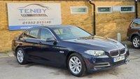 2015 BMW 5 SERIES 2.0 520D SE 4d AUTO 188 BHP £13984.00
