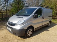 2013 VAUXHALL VIVARO 2.0 2700 CDTI 5d 90 BHP **NO VAT** WITH 3 REAR FIXED SEATS £6750.00