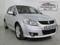 USED 2010 60 SUZUKI SX4 1.6 AERIO 5d 118 BHP Low mileage, Front and rear electric windows and air conditioning