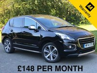 USED 2014 H PEUGEOT 3008 1.6 HDI ALLURE 5d. PANORAMIC ROOF