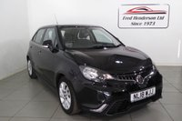 USED 2018 18 MG 3 1.5 FORM SPORT VTI-TECH 5d 106 BHP Low mileage, air conditioning, cruise contol, bluetooth and warranty untill 2023