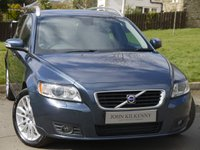 USED 2009 09 VOLVO V50 2.0 SE LUX D 5d 135 BHP VERY DESIRABLE TOP OF THE RANGE FAMILY ESTATE