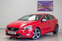 USED 2015 15 VOLVO V40 1.6 D2 R-DESIGN 5d 113 BHP MAY 2020 & Just Been Serviced