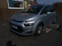 USED 2016 65 CITROEN C4 PICASSO 1.6 BLUEHDI VTR PLUS EAT6 5d AUTO 118 BHP £0 ROAD TAX - 74MPG COMBINED!!!, GREAT SPEC DIESEL AUTOMATIC WITH BLUETOOTH, PARKING SENSORS, ALLOY WHEELS, CRUISE CONTROL, 1 PREVIOUS OWNER AND FULL SERVICE HISTORY!!