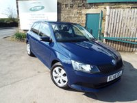 USED 2017 66 SKODA FABIA 1.0 S MPI 5d 59 BHP Only 9,000 Miles!!! Touch Screen Monitor with Bluetooth