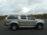 USED 2006 56 TOYOTA HI-LUX 2.5 HL3 SWB 4X4 DCP 1d 103 BHP NO VAT