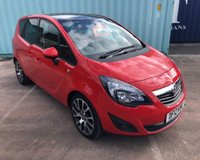 2012 VAUXHALL MERIVA 1.4 ACTIVE LIMITED EDITION 5d 99 BHP £5695.00