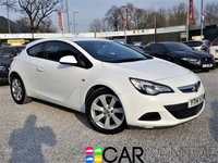USED 2014 14 VAUXHALL ASTRA 1.4 GTC SPORT S/S 3d 138 BHP 1 OWNER FROM NEW + FSH