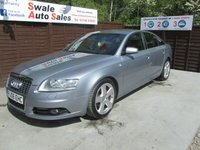 USED 2006 06 AUDI A6 2.0 TDI S LINE TDV 4d 140 BHP FINANCE AVAILABLE FROM £32 PER WEEK OVER TWO YEARS - SEE FIANCE LINK FOR DETAILS
