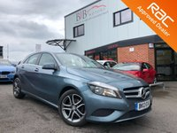 USED 2013 13 MERCEDES-BENZ A CLASS 1.8 A200 CDI BLUEEFFICIENCY SPORT 5d AUTO 136 BHP ALLOY WHEELS | PRIVACY GLASS | START/STOP | AUTOMATIC LIGHTS | ELECTRIC WINDOWS AND MIRRORS | CLIMATE CONTROL | CRUISE CONTROL | BLUETOOTH | USB | AUX