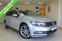 USED 2015 15 VOLKSWAGEN PASSAT 2.0 GT TDI BLUEMOTION TECHNOLOGY DSG 5d AUTO 148 BHP BLACK INTERIOR, SATELLITE NAVIGATION, BLUETOOTH PREP, ALLOY WHEELS, CLIMATE CONTROL, DRIVER ALERT SYSTEM, ADAPTIVE CRUISE CONTROL,