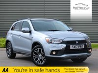 USED 2017 17 MITSUBISHI ASX 1.6 DI-D 4 5d 112 BHP CHEAP CAR, CAT D, BIG SPEC,NAV